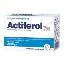ActiFerol Fe 30 mg 30 kapsułek