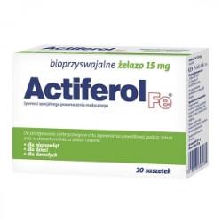 ActiFerol Fe 15 mg 30 saszetek