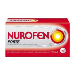 Nurofen Forte 400 mg x 48 tabletek powlekanych