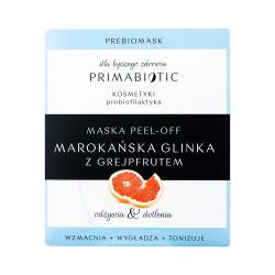 Maseczka PEEL-OFF Marokańska glinka z grejpfrutem 12g