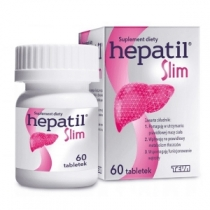 Hepatil Slim 600mg 60 tabletek