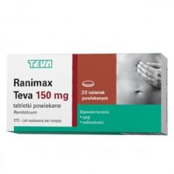 Ranimax Teva 20 Tabletek