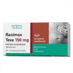Ranimax Teva 150mg 30 tabletek