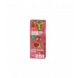BOB SNAIL Przekąski jabłkowo truskawkowe 30g