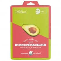 L'Biotica Avocado Vegan Mask 23ml