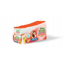 Zdrowe Karmelki Mniam mniam witaminy i minerały 10 sztuk po 40g