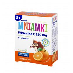 Mniamki Witamina C 250mg 60 pastylek 3+