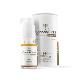 CannabiGold Premium olej 12ml