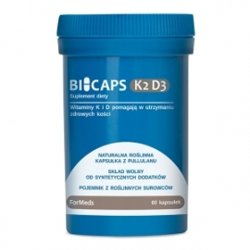 BICAPS K2 D3 60 kapsułek