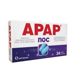 Apap Noc, tabletki powlekane, 24 szt