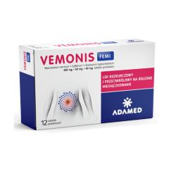 VEMONIS FEMI 12 tabletek