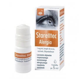 Starelltec Alergia 1mg/ml krople do oczu 5 ml