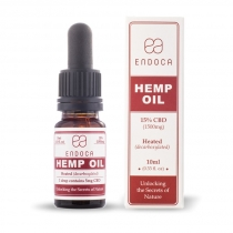 Olejek konopny 15% 1500mg CBD 10ml Endoca