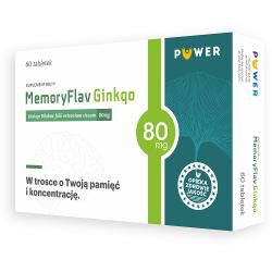 MemoryFlav Ginkgo 80mg 60 tabletek