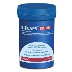 BICAPS BIOTIN 60 kapsułek