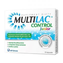 Multilac Control Junior 15 kapsułek