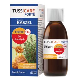 Tussicare Forte syrop 120ml, Data ważności 31.07.2021 r