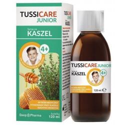 Tussicare Junior 4+ syrop 120 ml, Data ważności 31.07.2021 r