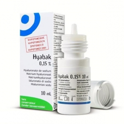 Hyabak 0,15% Nawilżające krople do oczu 10ml