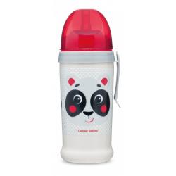Canpol Bidon niekapek kubek panda 56/510 beżowy 350 ml