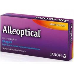 Alleoptical 20mg/ml, krople do oczu, 10 ampułek