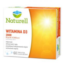 NATURELL Witamina D3 2000 60 tabletek