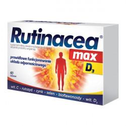 Rutinacea Max D3 60 tabletek
