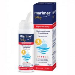 Marimer Hipertoniczny baby spray do nosa 100ml