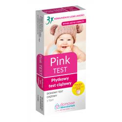 Test ciążowy PINK 1 sztuka