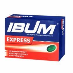 Ibum Express 400mg 12 kapsułek