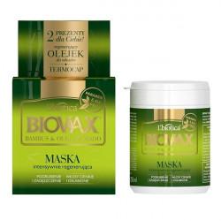 L'Biotica Biovax intensywnie regenerująca maseczka do włosów pogrubiająca i zagęszczająca 250ml