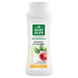 Biały Jeleń szampon do włosów ocet jabłkowy 300ml