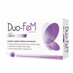 DUO-FeM 28 tabletek na dzień + 28 tabletek na noc