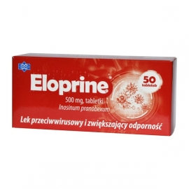 Eloprine 500mg 50 tabletek