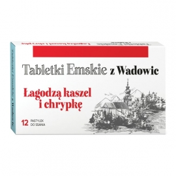 Tabletki Emskie z Wadowic 12 pastylki