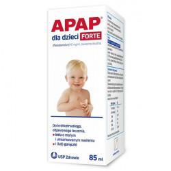 Apap dla dzieci Forte 40mg/ml zawiesina doustna 85ml