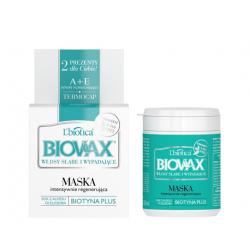 Libiotica BIOVAX Słabe wypadające maseczka do włosów 250 ml