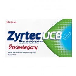 Zyrtec UCB 10mg 10 tabletek