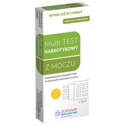 Multi test do wykrywania narkotyków w moczu 1 sztuka