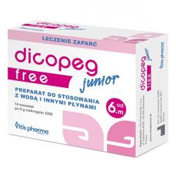 Vitis Pharma Dicopeg Junior Free od 6 miesiąca 14 saszetek