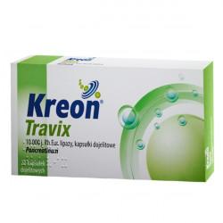 Kreon Travix (10 000j) 20 kapsułek