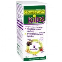 Scorbolamid KIDS+ Syrop 115 ml