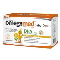 Omegamed Baby+D 0+ 60 kapsułek