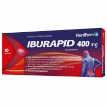 Iburapid 400 mg x 10 tabletek