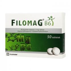 Filomag B6 50 tabletek 29.02.2020 r.