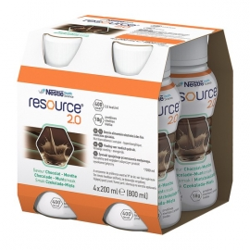 Resource 2.0 Smak czekoladowo-miętowy 4x200ml