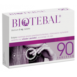 Biotebal 5mg 90 tabletek