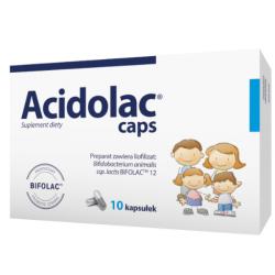 Acidolac Caps 10 kapsułek