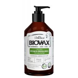 L'Biotica Biovax Zielona Myjąca Ekoglinka do włosów 200ml
