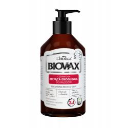 L'biotica Biovax Czerwona Myjąca Ekoglinka 200ml